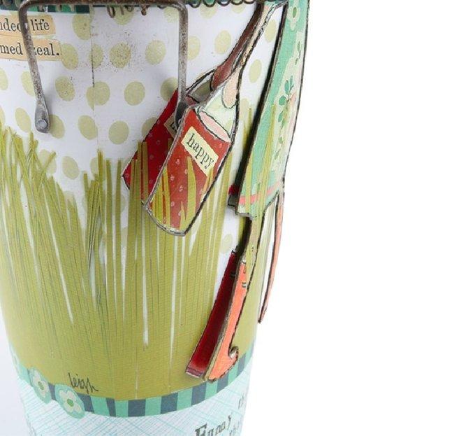 Декоративный цветочный горшок Сampaign