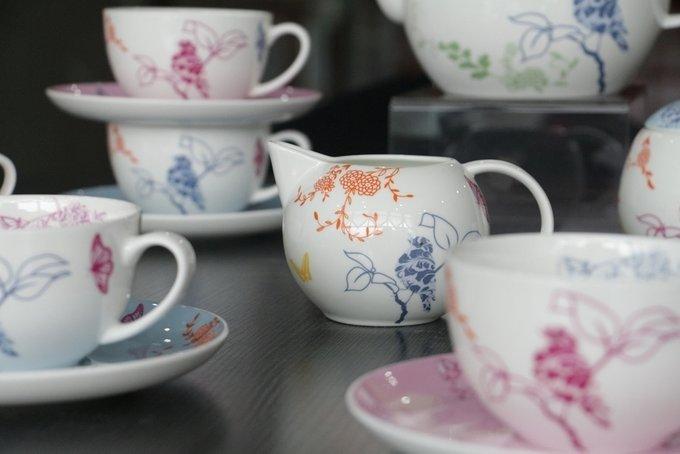 Чайный сервиз Sienna  из фарфора