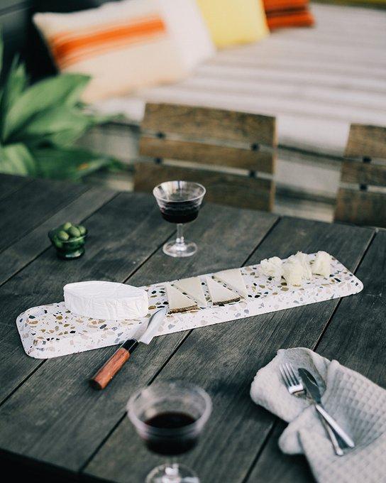 Доска для сыра Doiy terrazzo 68 см