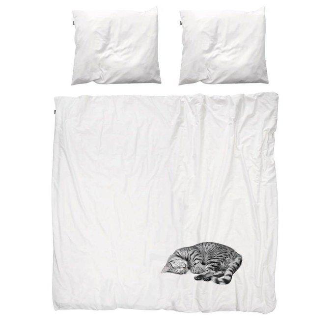 """Комплект постельного белья """"Кошка"""" 200х220"""