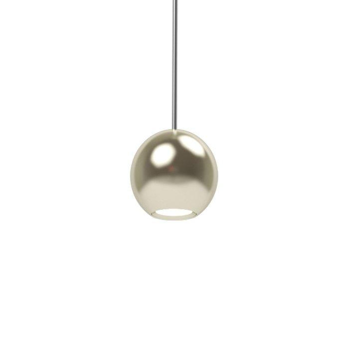 Подвесной светильник Harmat золотого цвета