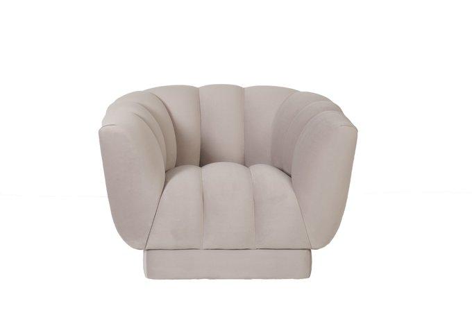 Кресло Fabio бежевого цвета