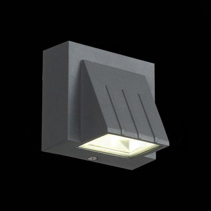 Уличный настенный светодиодный светильник ST Luce Smuso