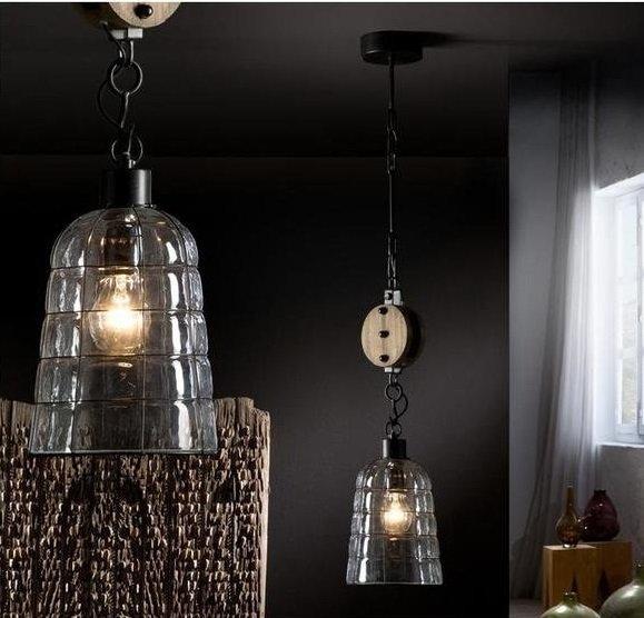 Подвесной светильник Schuller Estiba в винтажно-индустриальном стиле