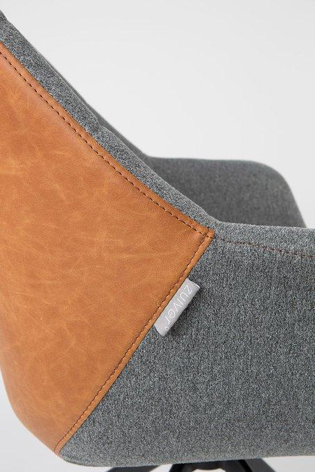 Кресло Doulton Vintage Brown серо-коричневого цвета