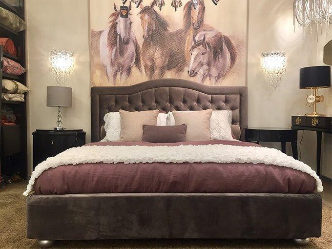Кровать Lilu Art Julia 200х200