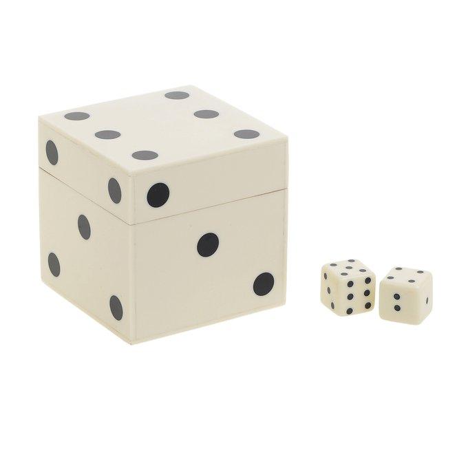 Декоративная игра Кубики из дерева