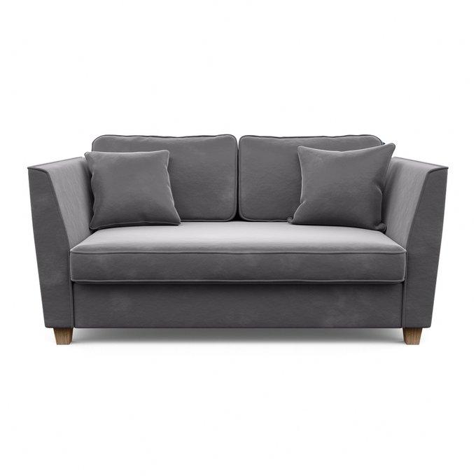 Трехместный диван-кровать Уолтер L серого цвета