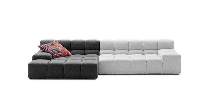 Диван Tufty-Time Sofa Бело-Серая шерсть