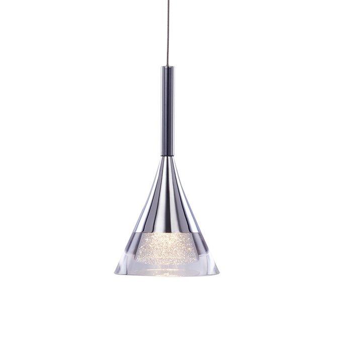 Подвесной светильник Illuminati Gioiello с плафоном из металла и прозрачного стекла