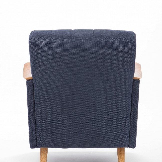 Кресло Theodore темно-синее