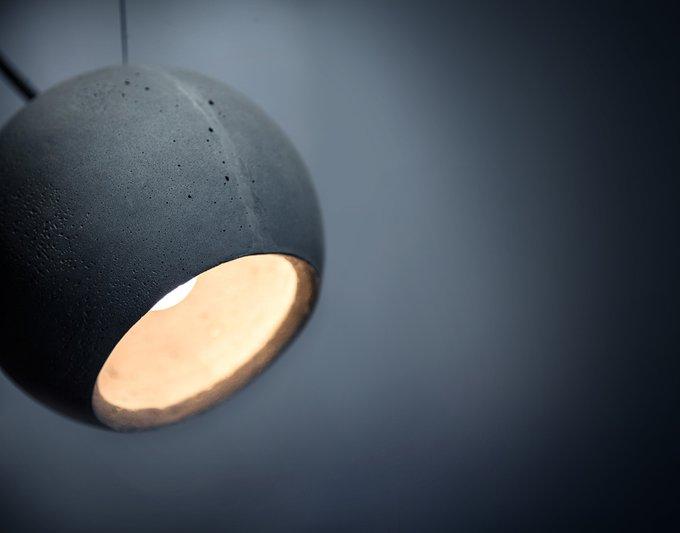 Подвесной светильник Loona  из бетона
