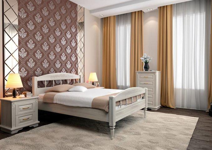 Кровать Флоренция ясень-венге 160х200
