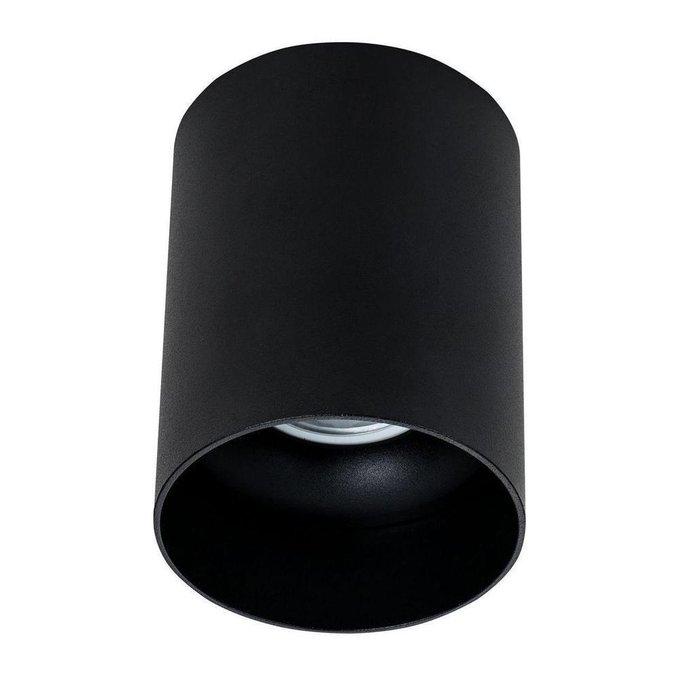 Потолочный светильник Alfa черного цвета