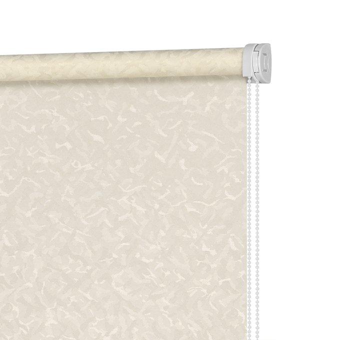 Рулонная штора Миниролл Айзен бежевого цвета 60x160