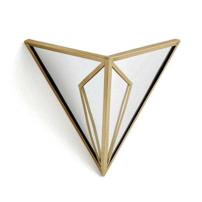 Настенный светильник Trigala из металла с зеркальными элементами