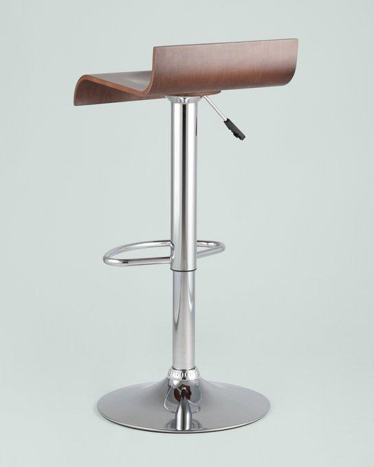 Барный стул Дублин из дерева и стали