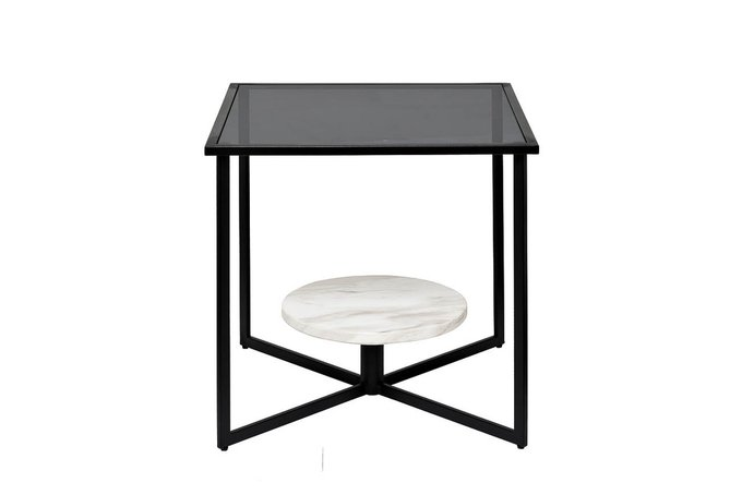 Журнальный стол со стеклянной столешницей