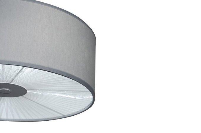 Подвесной светильник Drum с текстильным плафоном