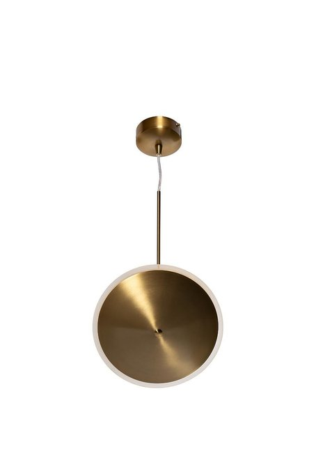 Подвесной светильник бронзового цвета