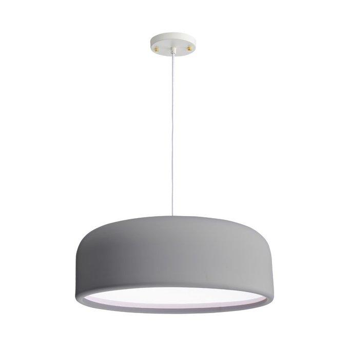 Подвесной светильник Loire серого цвета