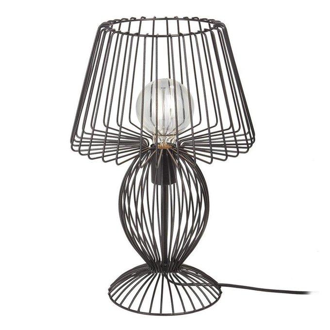 Настольная лампа Vitaluce черного цвета