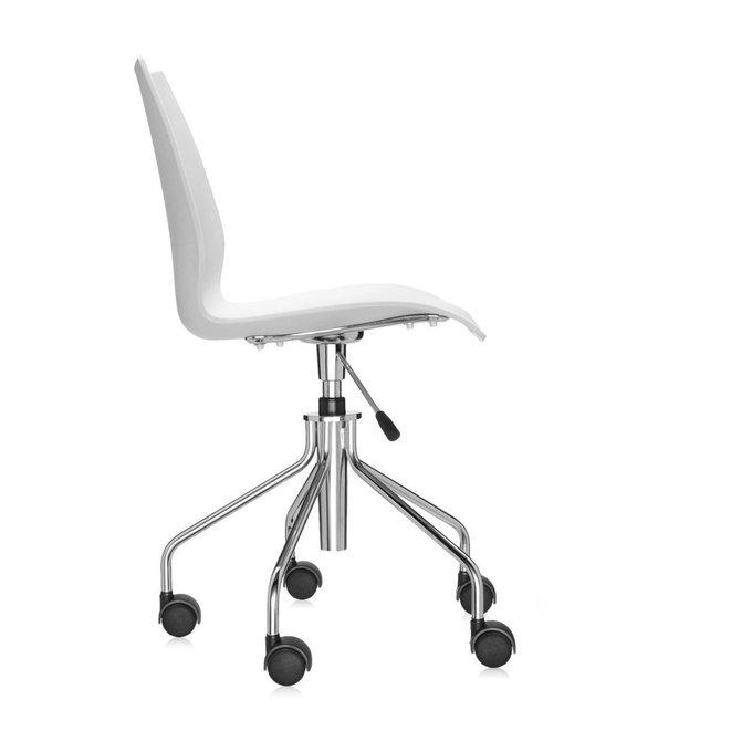 Офисный стул Maui белого цвета