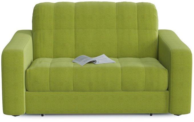 Диван прямой Арагон Green зеленого цвета