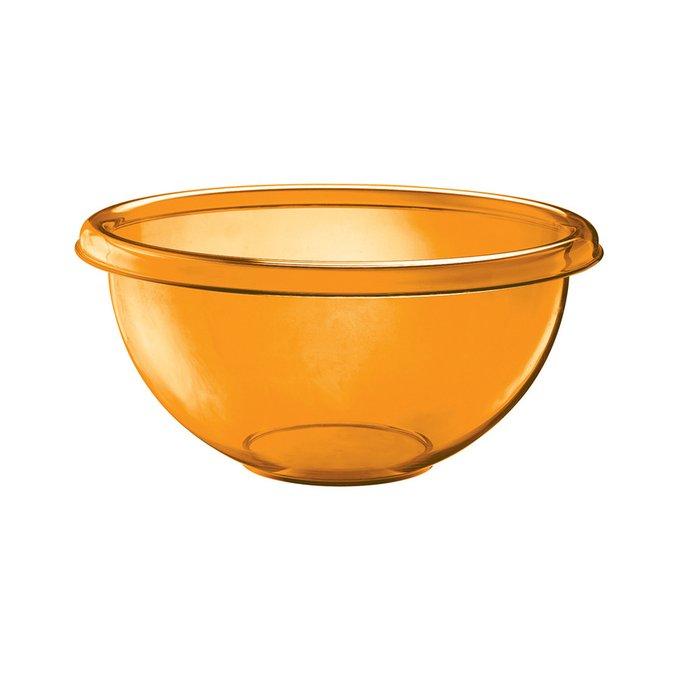 Миска для салата Happy Hour оранжевого цвета