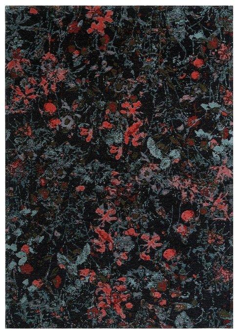 Ковер Secret черного цвета 160х230