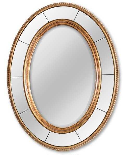 Настенное зеркало в раме Lorena Gold