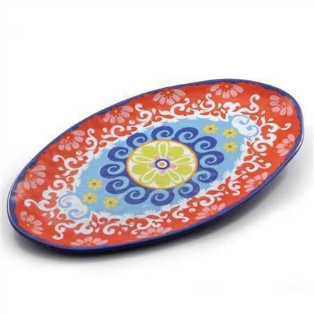 Набор из трех керамических тарелок Nador