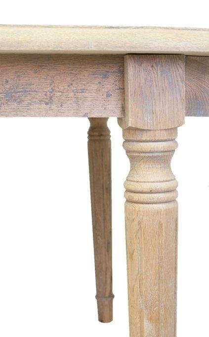 Обеденный стол Tevi из массива дуба