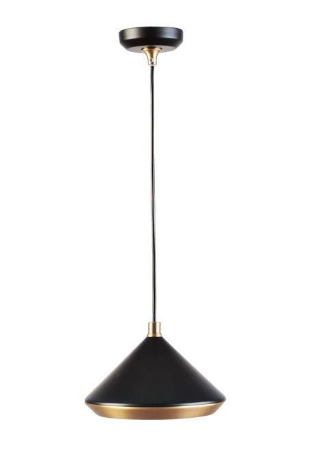 Лампа подвесная черного цвета