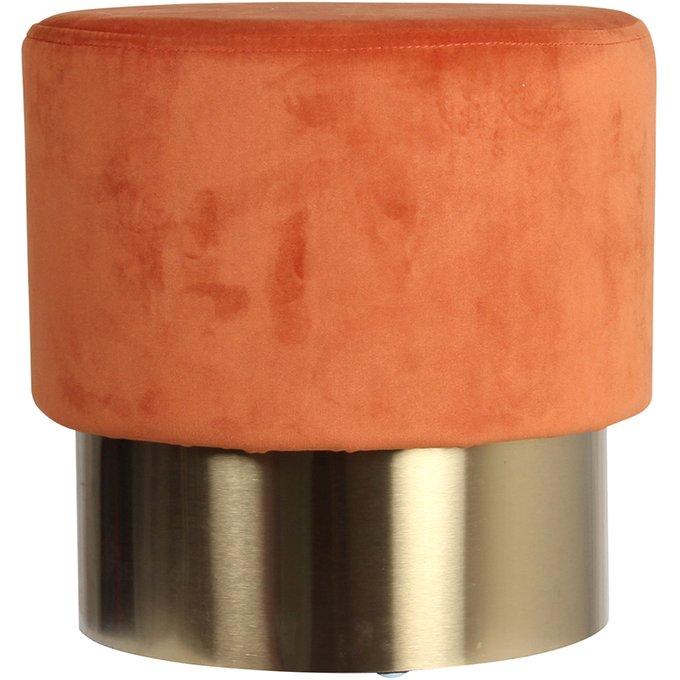 Пуф Sergre оранжевого цвета