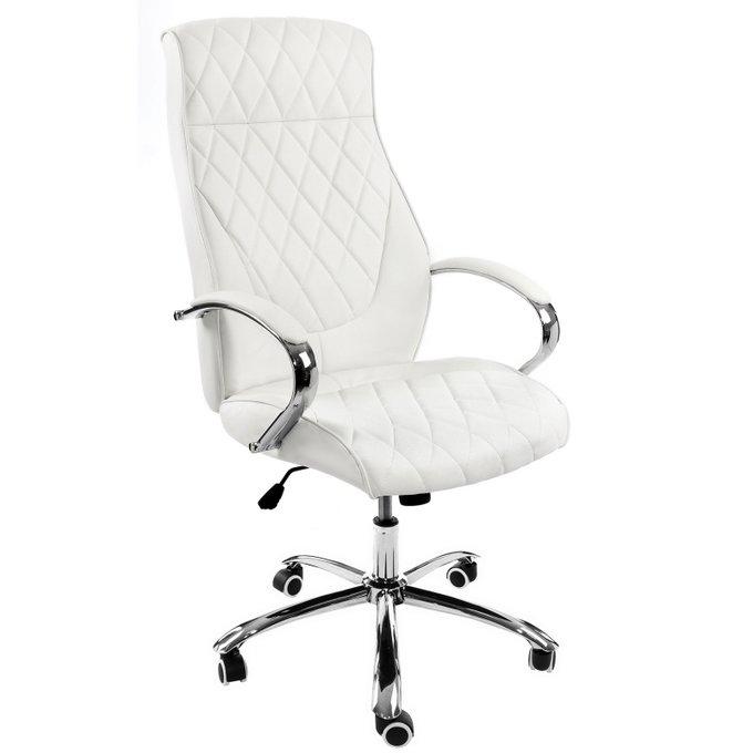 Компьютерное кресло Monte белого цвета