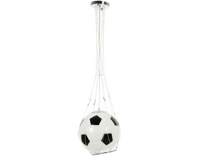 Подвесной светильник Мяч со стеклянным плафоном