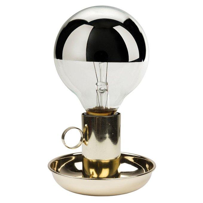Настольная лампа Elegance золотого цвета