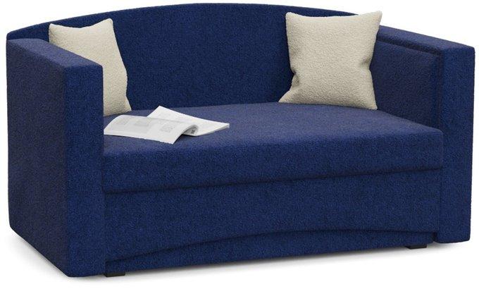 Диван-кровать Принц Корфу темно-синего цвета