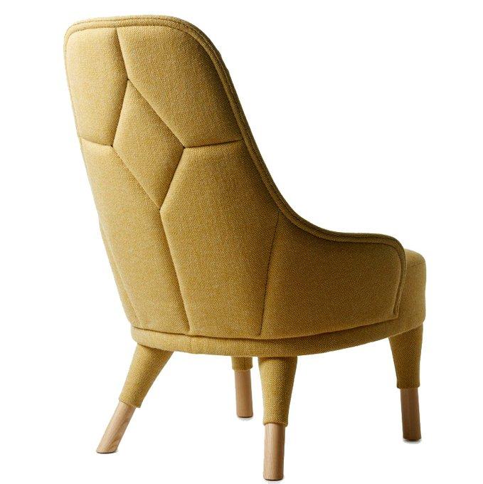 Кресло Emma желтого цвета