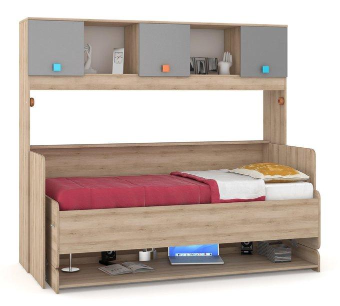 Кровать-стол трансформер Доминика для детской комнаты