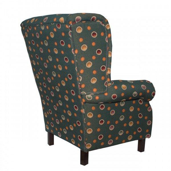 Кресло Bon-bon сине-бежевого цвета