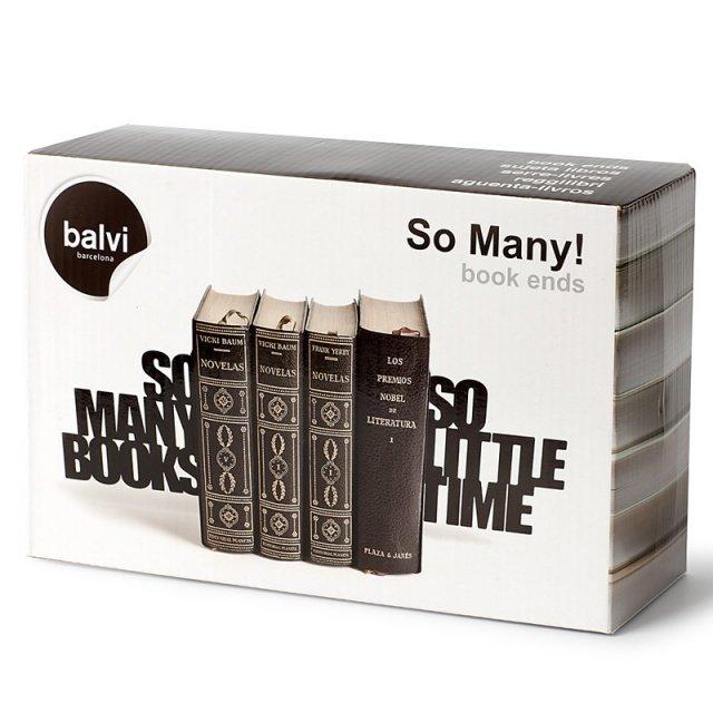 Держатель для книг So many! черного цвета