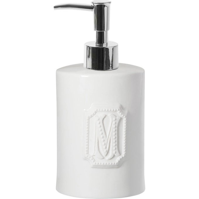 Диспенсер для мыла Perle белого цвета