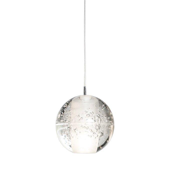 Подвесной светильник Praia из стекла