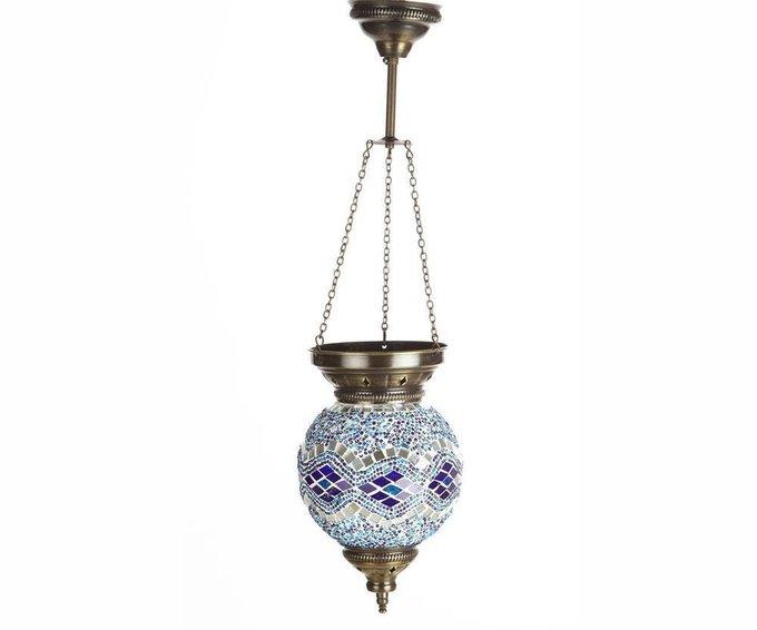 Подвесной светильник Марокко из металла и стекла