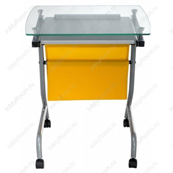 Компьютерный стол Riko со стеклянной столешницей