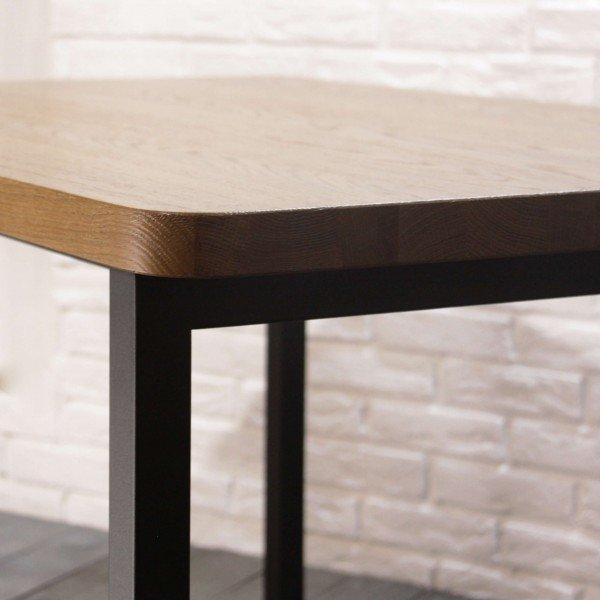 Обеденный стол  Бренди со столешницей из массива дуба