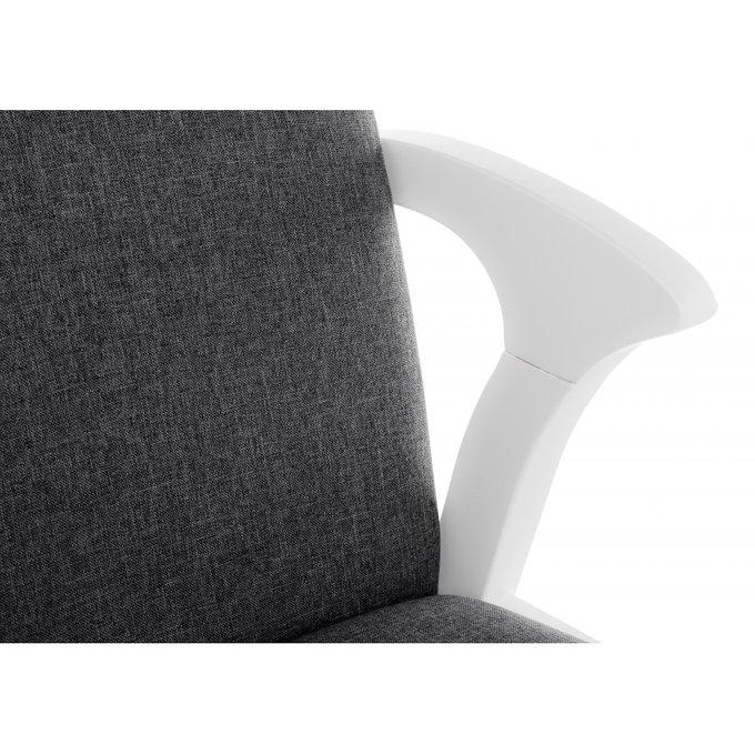 Деревянный стул Artis с серой обивкой