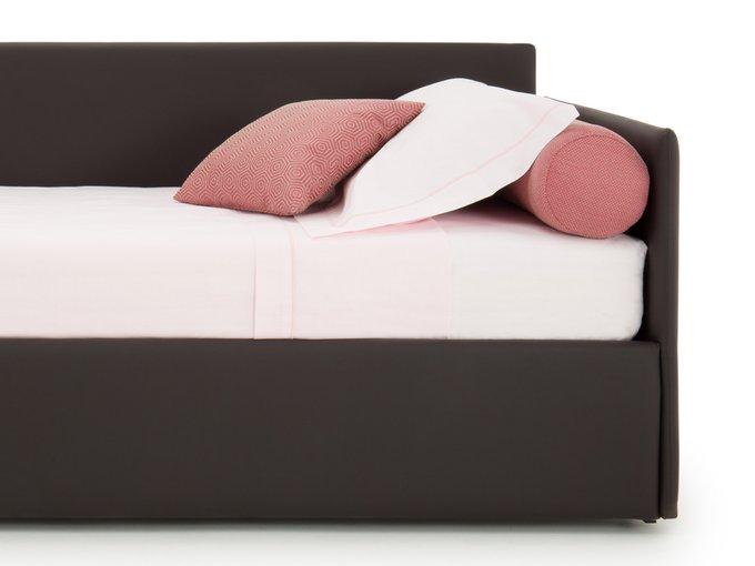 Односпальная кровать Джуниор черного цвета 90х190